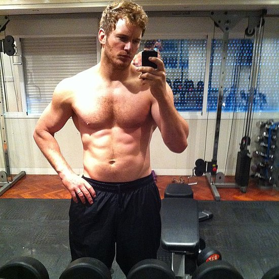 "Chris Pratt got ripped for a new role and showed off his progress on his personal Instagram account. He included the caption: ""Six months no beer. #GOTG Kinda douchey to post this but my brother made me."" Source: Instagram user prattprattpratt"