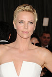 At the 2013 Academy Awards, Charlize showed off her chic pixie cut, the perfect accent to her delicate features.