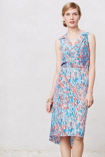 Brushstrokes Midi Dress
