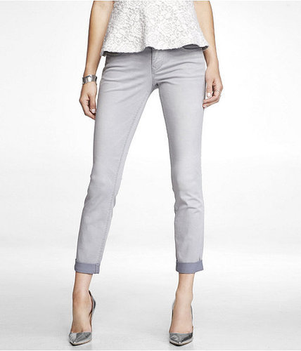 Stella Ankle Skinny Leg Jean - Gray