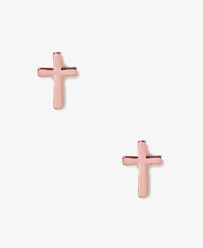 FOREVER 21 Cross Studs