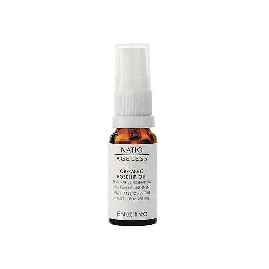 Natio Ageless Organic Rosehip Oil, $19.95