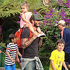 David Beckham With Kids at Legoland | Photos
