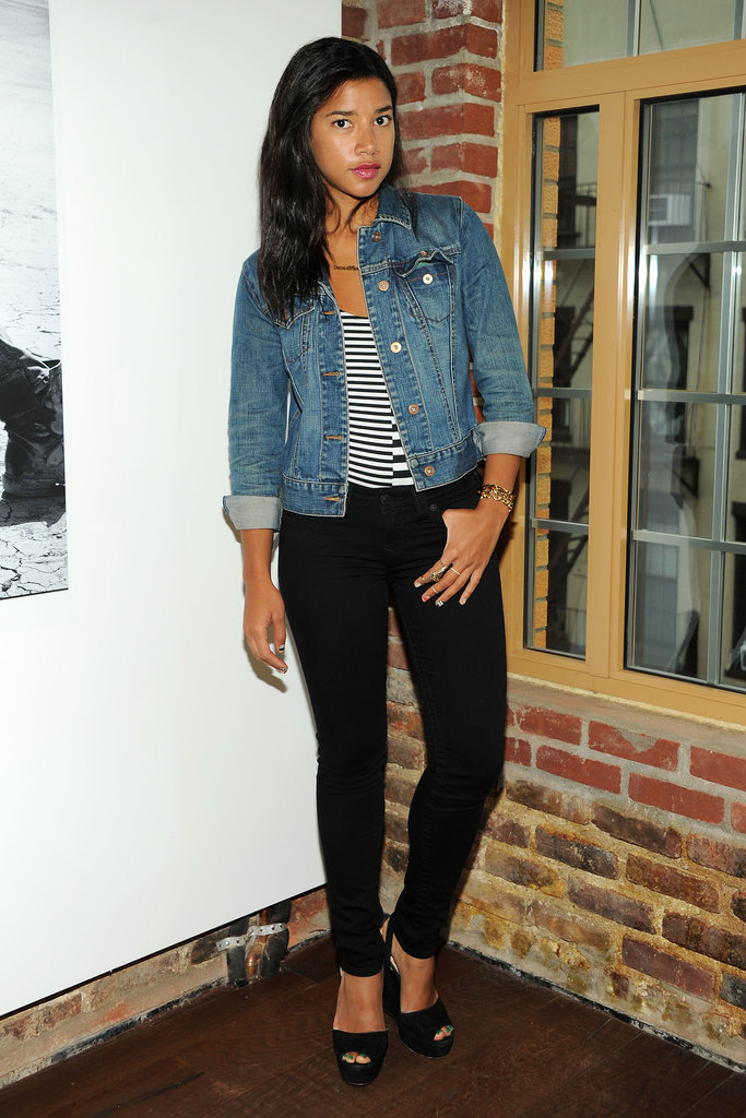 Hannah Bronfman helped launch the True Religion Fall campaign with Vogue in denim.