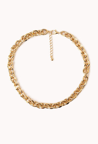 FOREVER 21 Goddess Chain Link Necklace