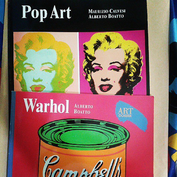 Brendanrahrah read about pop art.