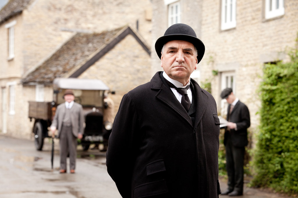 Jim Carter as Mr. Carson in Downton Abbey. Source: PBS