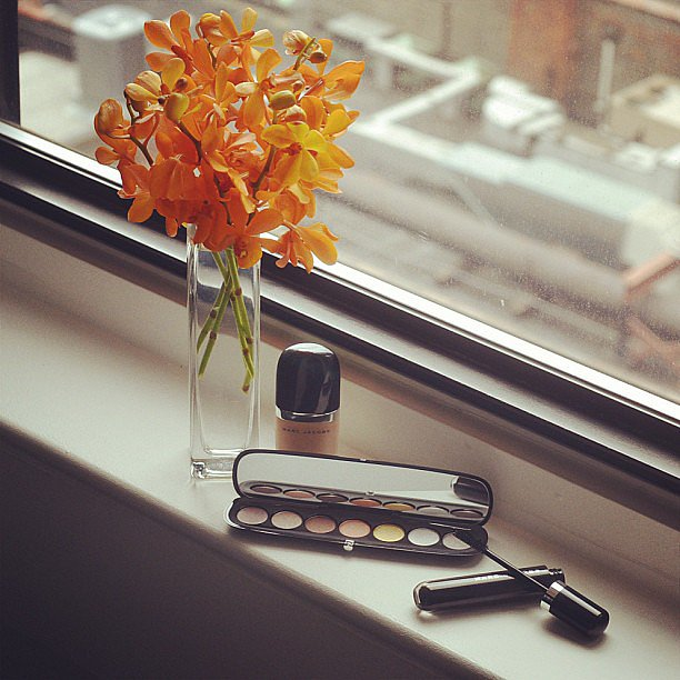 We got a sweet eyeful of Marc Jacobs's first beauty line. Source: Instagram user marcjacobsintl