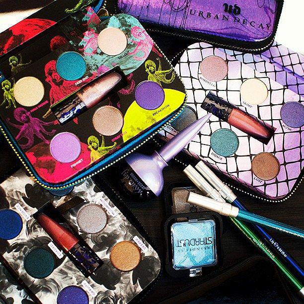 These punchy hues from Urban Decay have us letting out our inner fangirl. Source: Instagram user urbandecaycosmetics