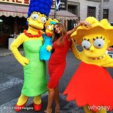 Sofia Vergara got animated with The Simpsons characters. Source: Sofia Vergara on WhoSay