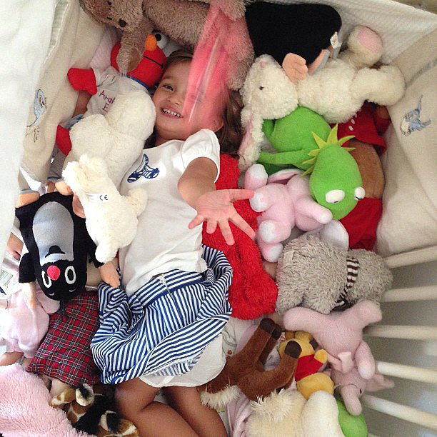 Can you find Arabella Kushner in this sea of animals? Source: Instagram user ivankatrump