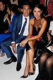 Sitting front row at the Myer launch on Thursday? Braith and Jodi Anasta.