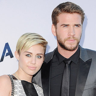 Miley Cyrus And Liam Hemsworth Together At Paranoia Premiere