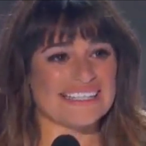 Lea Michele Emotional Speech at 2013 Teen Choice Award