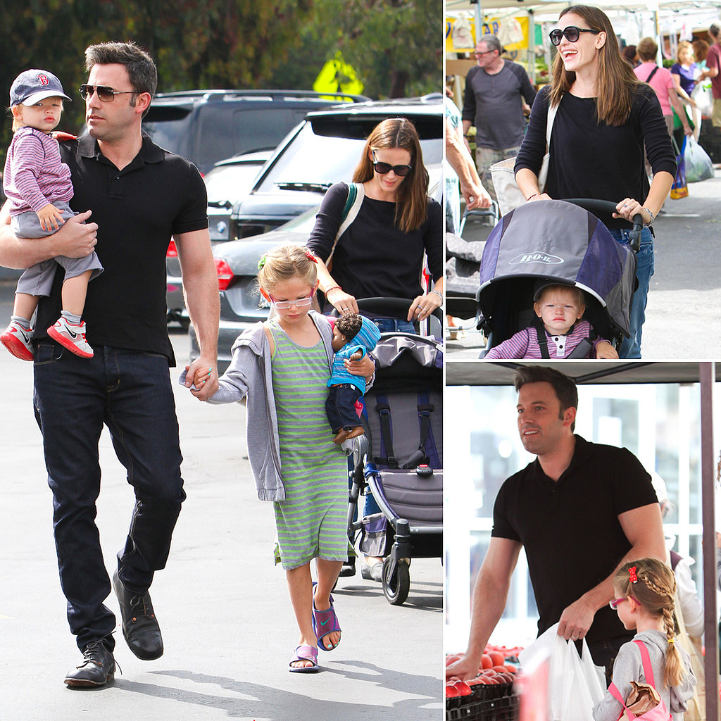 jennifer garner ben affleck and family