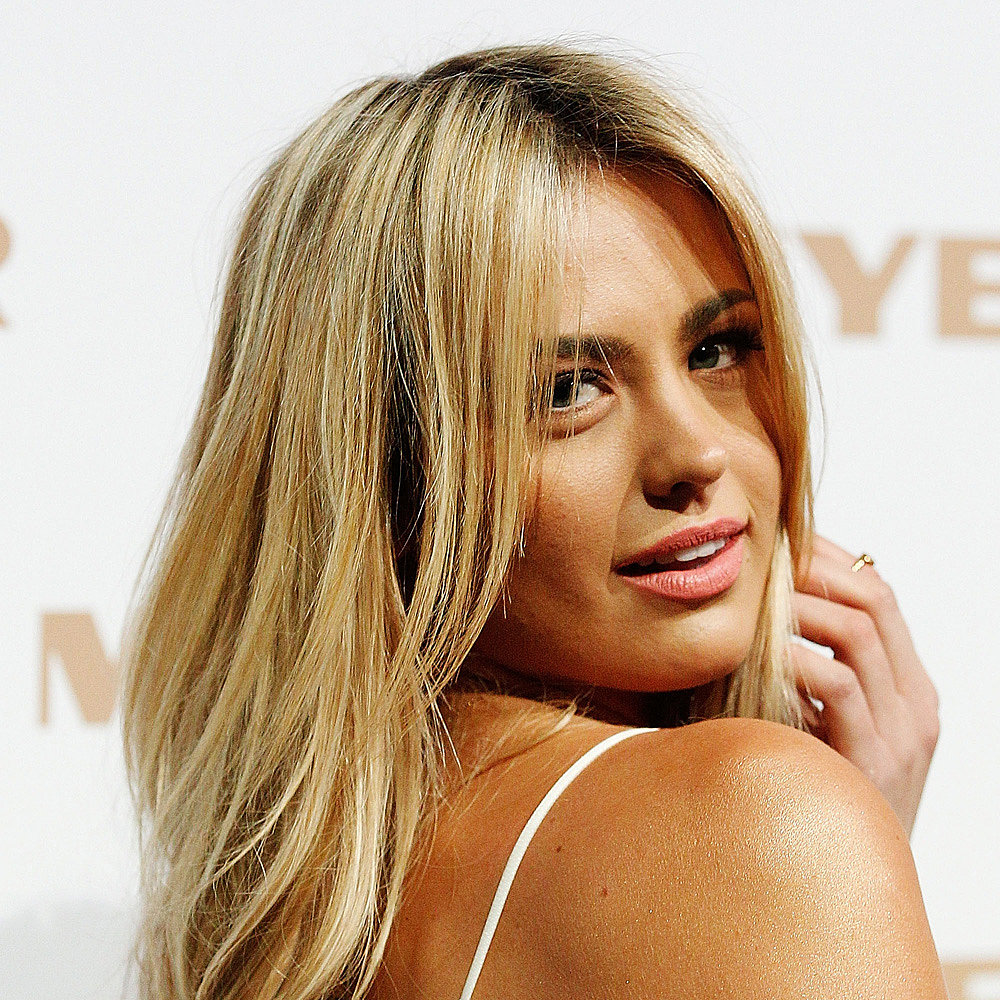 Just last week at the Myer show, Jesinta showed-off her newly lightened locks.