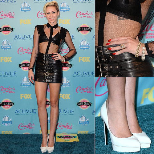 Miley Cyrus Dress | Teen Choice Awards 2013