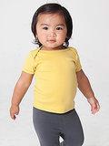 Organic Infant Baby Rib Short Sleeve Lap T ($10)