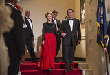 Jane Fonda as Nancy Reagan and Alan Rickman as Ronald Reagan in Lee Daniels' The Butler.