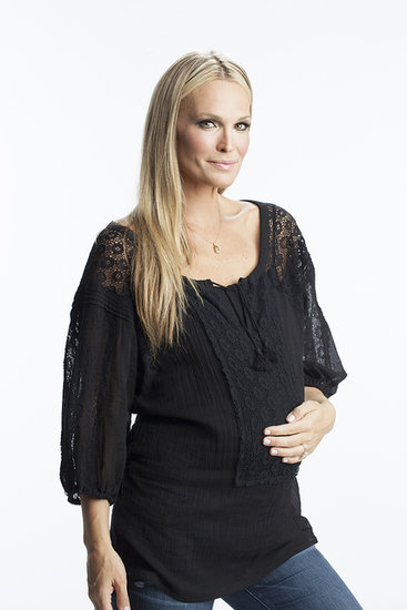 Molly Sims for Stork & Babe will offer tops, blouses, sweaters, skirts, dresses, casual and dressy bottoms, and denim, as well as jackets.