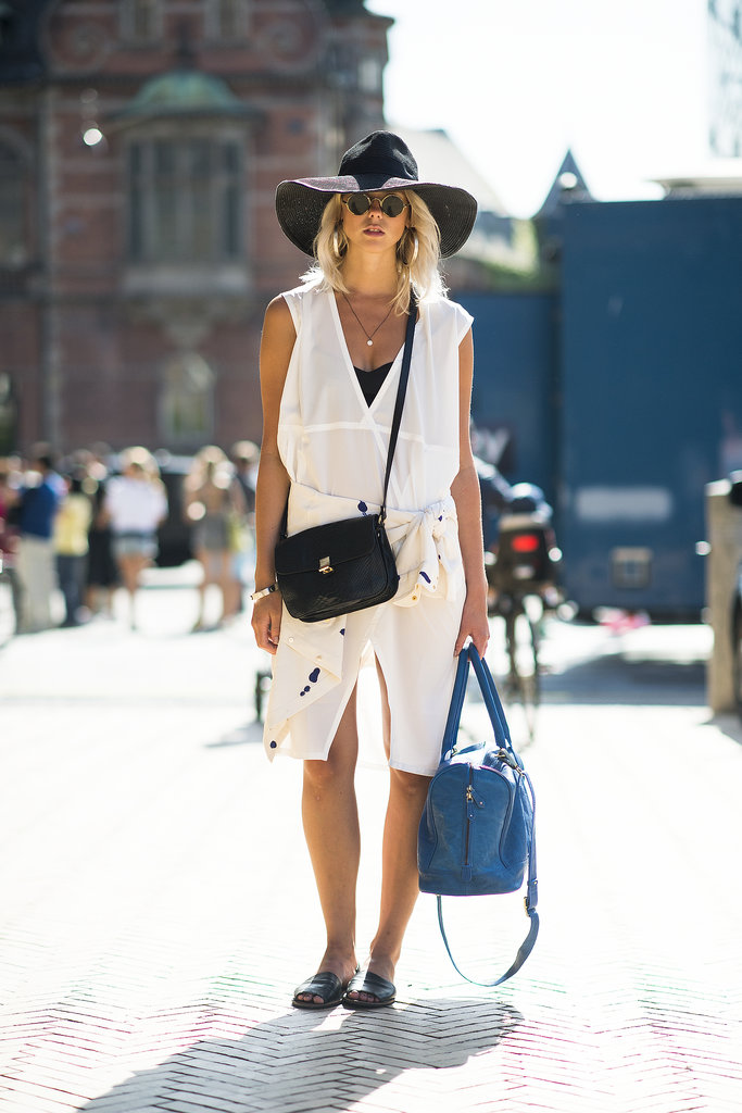 Quite possibly one of the most perfectly effortless Summer looks we've seen all season. Source: Le 21ème | Adam Katz Sinding