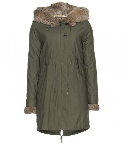 Woolrich LITERARY WALK FUR-LINED PARKA