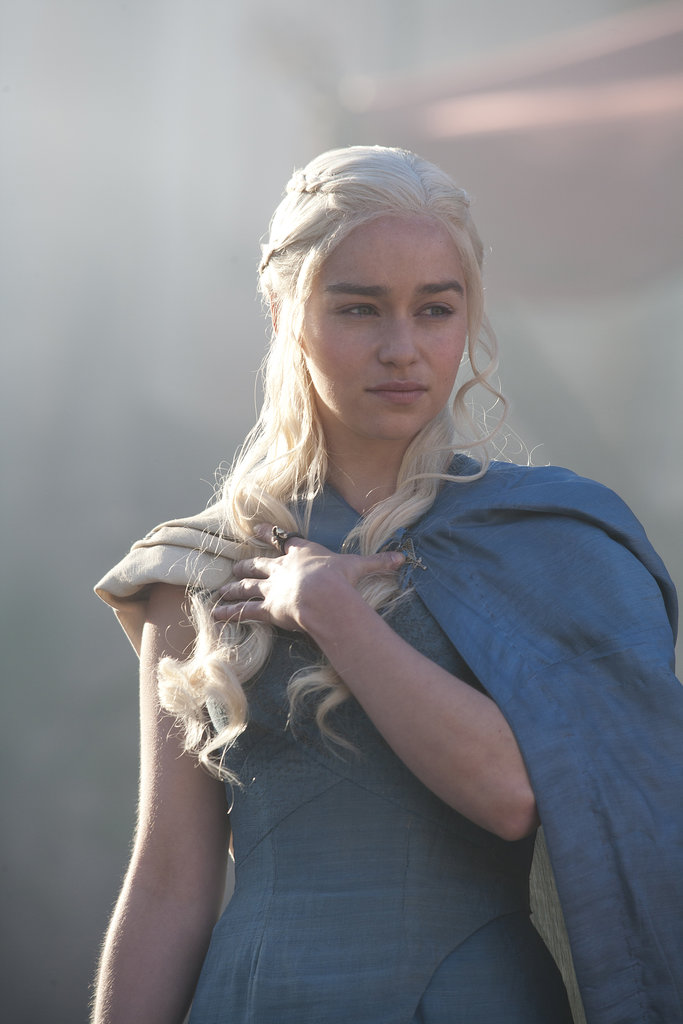 Emilia Clarke Clarke has played Daenerys Targaryen for three seasons on Game of Thrones, but this is the first year she has gotten recognition. She's up for outstanding lead actress in a drama series.