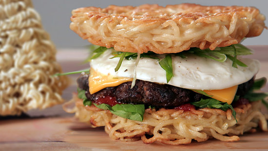 Make a Ramen Burger at Home!