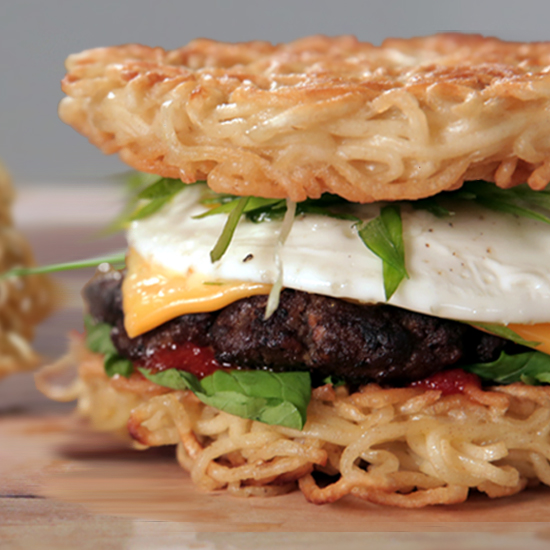 shoyu recipes easy ramen Ramen Burger  Food   Video POPSUGAR Recipe