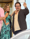 Sofia Vergara and Jon Favreau filmed their project, Chef,  in Miami on Monday.