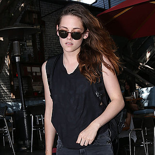 Kristen Stewart at Home Restaurant in LA