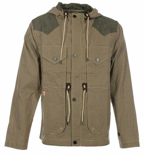 Marshall Artist Red & Olive Mountain Parka Jacket