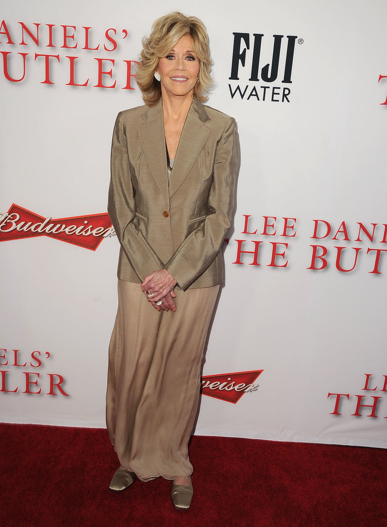 Jane Fonda walked the red carpet.