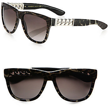 Saint Laurent Square Wayfarer Sunglasses