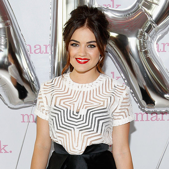 Lucy Hale Talks Beauty Products and Regime