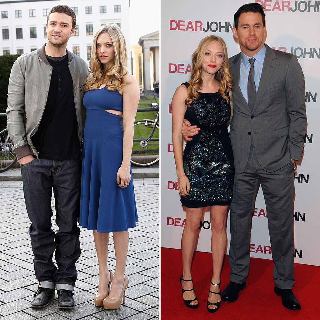 """On having Channing Tatum and Justin Timberlake as costars, Amanda Seyfried dished to Elle in April 2011: """"I can't lie. It didn't suck making out with Channing [Tatum] and Justin [Timberlake]."""""""