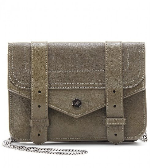 Proenza Schouler PS1 LARGE CHAIN LEATHER SHOULDER BAG