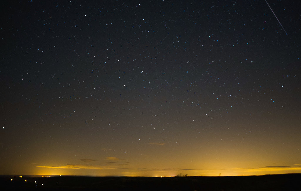 In the Northern Hemisphere, the UK makes a perfect spot to view the Perseids. This meteor was spotted over the North Yorkshire Moors Tuesday morning.
