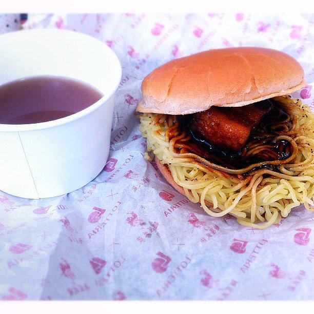The First Instagrammed Ramen Burger