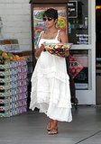 This Summer, Halle rocked one of our favorite staples — the breezy white dress!
