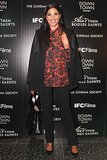Rachel Roy stepped out for Calvin Klein's New York Ain't Them Bodies Saints showing.
