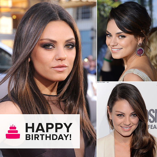 See the Beauty Evolution of Birthday Girl Mila Kunis