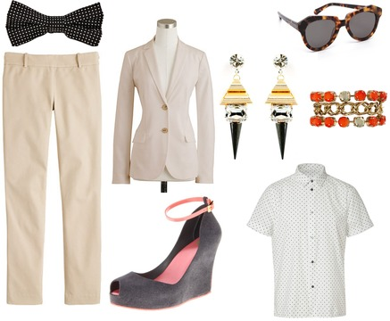 Karen Walker, Noir, J.Crew, Hugo, Marc by Marc Jacobs