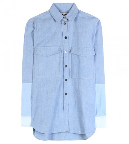 Victoria Beckham Denim chemise en chambray