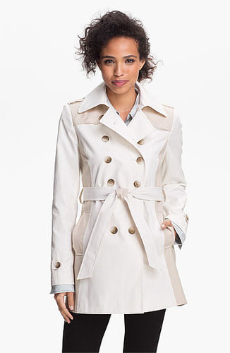 DKNY Two Tone Trench Coat Large