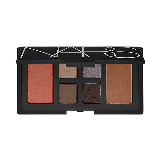"The Nars At First Sight Eye & Cheek Palette ($65) gives new life to the term ""neutral palette"" with lilac, emerald, and chocolate hues."