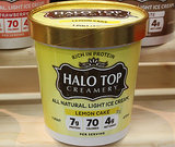 Halo Top Creamery Light Ice Cream