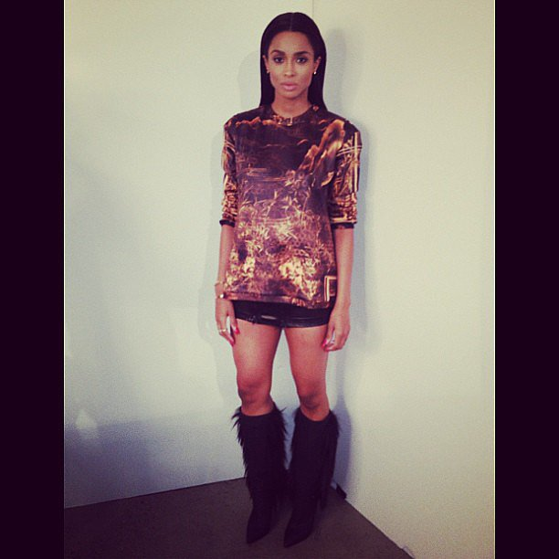 Ciara showed off a sexy, eye-catching ensemble. Source: Instagram user ciara