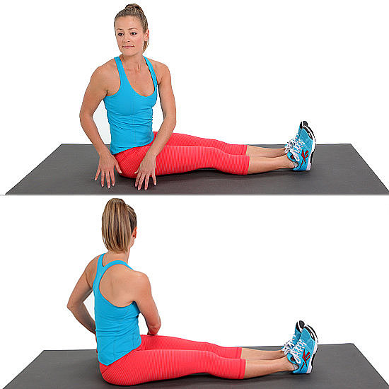 Ab Work: Seated Russian Twist