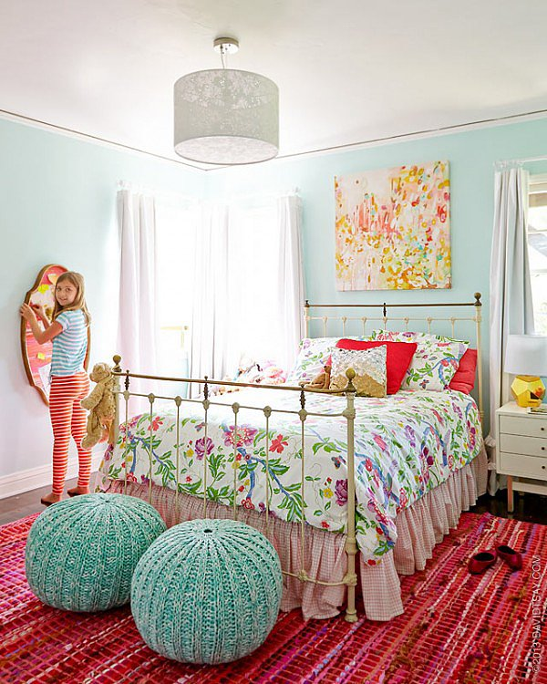 Design Tip: Bring Color In Through Textiles